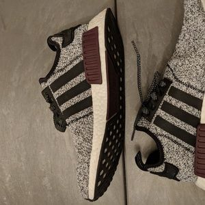 meet a1f90 78f2d adidas Shoes - adidas NMD R1 Champs Burgundy Grey size 9.5 in Men